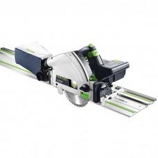 Акумулаторен потъващ циркулярен трион Festool TSC 55 Li 5,2 REB-Set/XL-FS