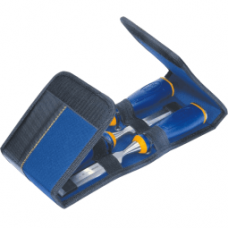 Комплект от удароустойчиви длета Irwin ProTouch MS500 в чанта за инструменти - 10, 15, 20 мм