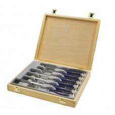 Комплект от удароустойчиви длета Irwin ProTouch MS750 в дървена кутия - 6, 10, 15, 20, 25, 35 мм